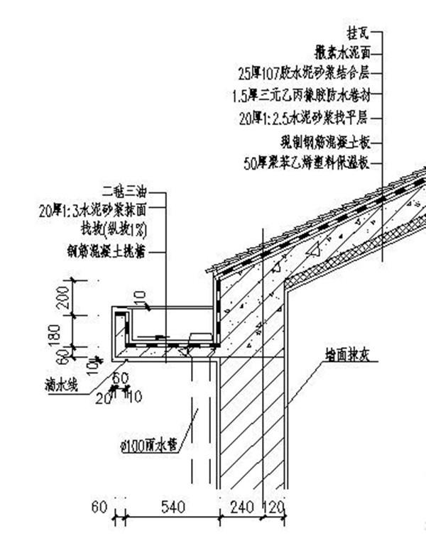 房屋管道结构图